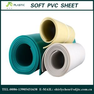 Good Insulation Thick Flexible White PVC Plastic Sheet Roll