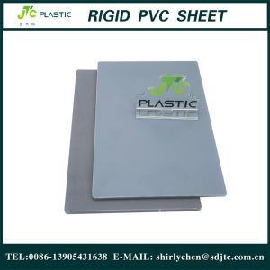 Hard Clear Plastic Transparent Blue PVC Sheet Board for Printing